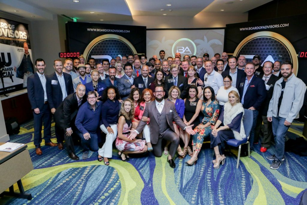 Board of Advisors Mastermind – 2018 Q4 Event