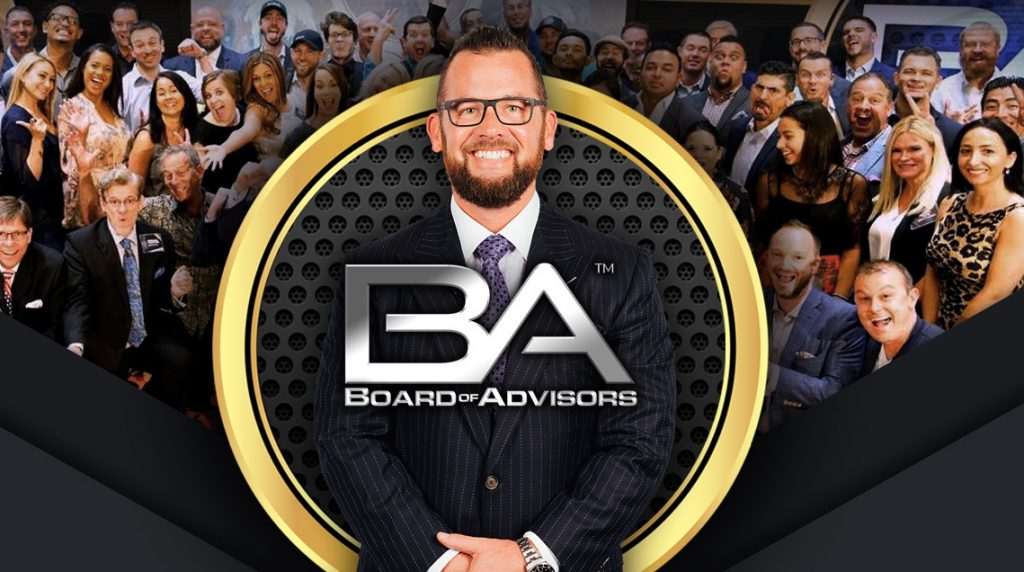 The Board of Advisors Mastermind – 2019 Event Dates